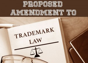 Proposed amendment to Trademark Law